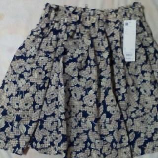 ジーユー(GU)のGUのフレアースカート(ミニスカート)