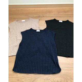 シップスフォーウィメン(SHIPS for women)のリブフレンチスリーブTシャツ(Tシャツ(半袖/袖なし))