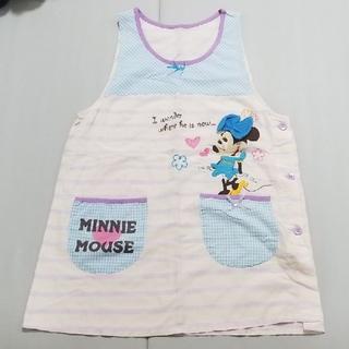 ディズニー(Disney)の6月末削除予定 エプロン ディズニー保育士幼稚園保育園 先生ミッキーミニー(その他)