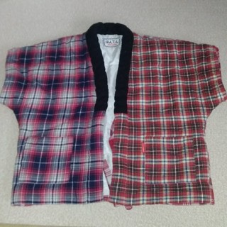 ミキハウス(mikihouse)のミキハウスのはんてん 女の子用 サイズM(和服/着物)