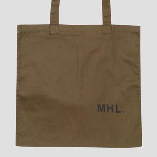 マーガレットハウエル(MARGARET HOWELL)のMHL トートバッグ【これからの季節にぴったり】(トートバッグ)