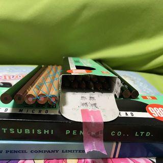 ミツビシエンピツ(三菱鉛筆)のHB&赤えんぴつセット 三菱鉛筆★クオティーの高い鉛筆(鉛筆)