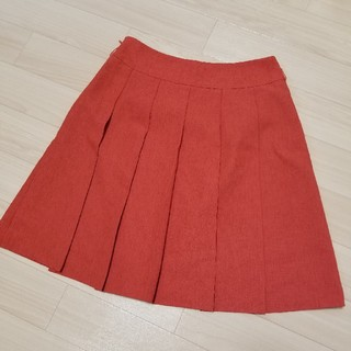 プーラフリーム(pour la frime)のプリーツスカート(ミニスカート)
