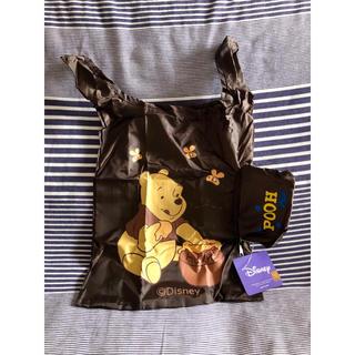 ディズニー(Disney)の☆°+未使用品 ディズニー ぷーさん エコバッグ☆°+ブラウン(エコバッグ)