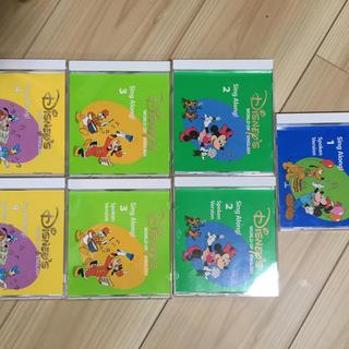 ディズニー(Disney)のDWE シングアロング CD  ディズニー 英語(知育玩具)