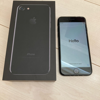 iPhone - iPhone7 128GB docomo Jetblack