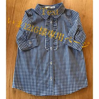 エムピーエス(MPS)のチェックシャツ(Tシャツ/カットソー)