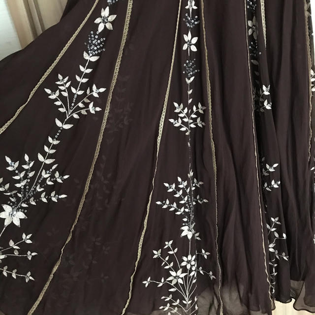 BCBGMAXAZRIA(ビーシービージーマックスアズリア)の松田聖子さん着用 ロングドレス レディースのフォーマル/ドレス(ロングドレス)の商品写真