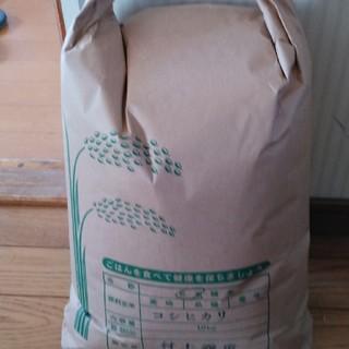 栃木県特一等米(ブランド米)10キロ無農薬にて育て上げます。