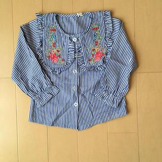 韓国子供服 ブラウス 7(ブラウス)