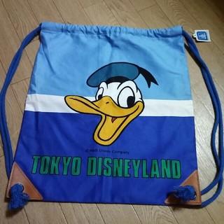 ディズニー(Disney)のドナルド リュック(巾着バック)(リュック/バックパック)