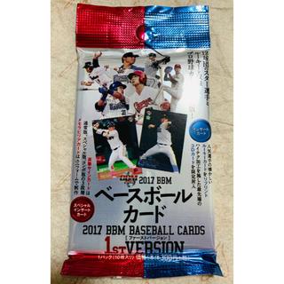 エポック(EPOCH)の絶版!ベースボールカード2017BBMファーストバージョン(スポーツ選手)