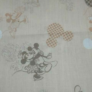 ディズニー(Disney)のミッキー ミニー 生地(生地/糸)