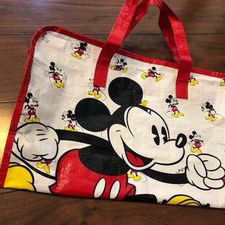 ディズニー(Disney)のDisney Mickey mouse  ナイロン素材バック(キャラクターグッズ)