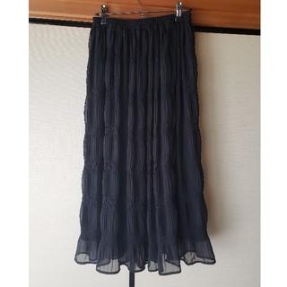 シマムラ(しまむら)のマジョリカプリーツスカート(ロングスカート)