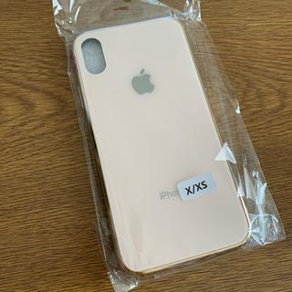 アップル(Apple)のiPhoneX/XS ガラスケース(iPhoneケース)