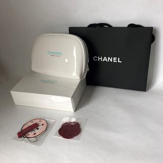 CHANEL - 3084 CHANEL コスメポーチ ホワイト