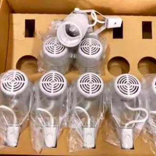 ☆送料無料☆取り付け簡単 LEDスポットライト ダクトレール用 10個セット新品(天井照明)