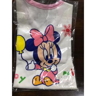 ディズニー(Disney)の新品 ディズニー ミニー エプロン(お食事エプロン)