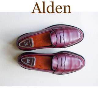 オールデン(Alden)の【極美品 貴重】Alden Vintage ローファー カーフ 7 D(ドレス/ビジネス)