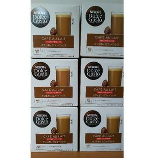 Nestle - ドルチェグスト カフェオレ カフェインレス 6箱 新品未開封