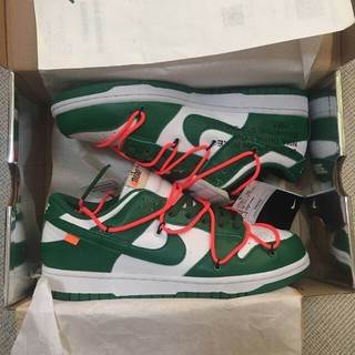OFF-WHITE - Nike×Off-White Dunk Low GREEN
