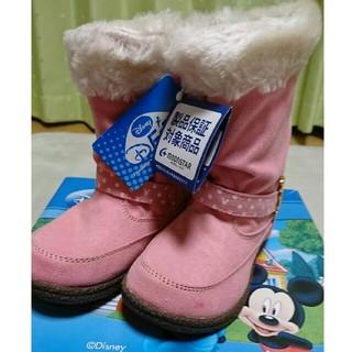 ディズニー(Disney)のミッキー ムートンタッチブーツ(ブーツ)