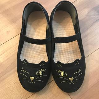 GU - GU 子供 キッズ 靴 パンプス ネコ 20cm