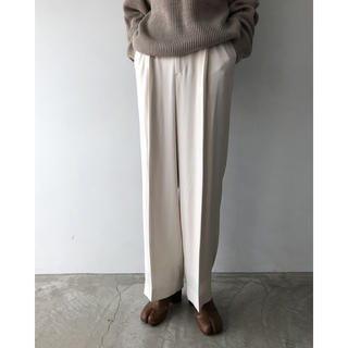 TODAYFUL - TODAYFUL Georgette Rough Trousers エクリュ38