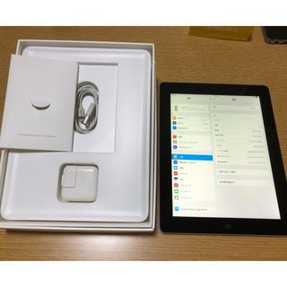 アイパッド(iPad)のipad 4世代 wifiモデル 極美品 完動品(タブレット)