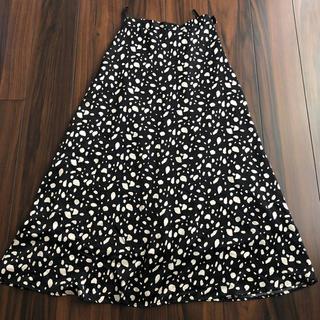 シマムラ(しまむら)の❤︎美品 可愛い しまむら ダルメシアン スカート M❤︎(ロングスカート)