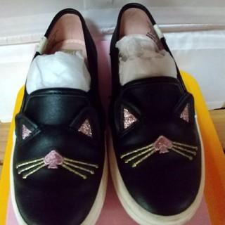 ケイトスペードニューヨーク(kate spade new york)のkate spade✴️猫靴(スリッポン)
