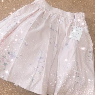 エブリン(evelyn)の♡♡ オリジナル 花柄 ボリューム スカート SK ♡♡(ひざ丈スカート)