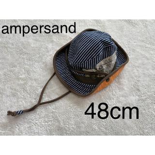 アンパサンド(ampersand)の48cm ベビー帽子 テンガロンハット 赤ちゃん帽子(帽子)