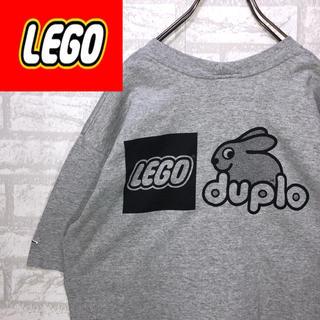 レゴ(Lego)のusa製 LEGO デカロゴ バックプリント 企業T キャラクター アニメ 古着(Tシャツ/カットソー(半袖/袖なし))