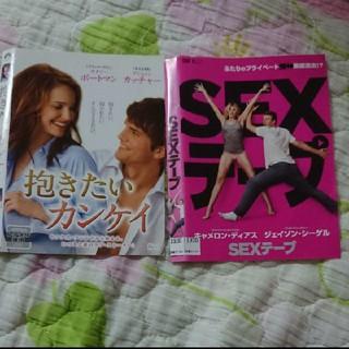 洋画 DVD 2枚 レンタル落(外国映画)