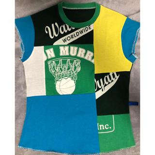 シップス(SHIPS)のtrash-a-porter Tシャツ SHIPS  ブルックリン ブルー (Tシャツ/カットソー(半袖/袖なし))