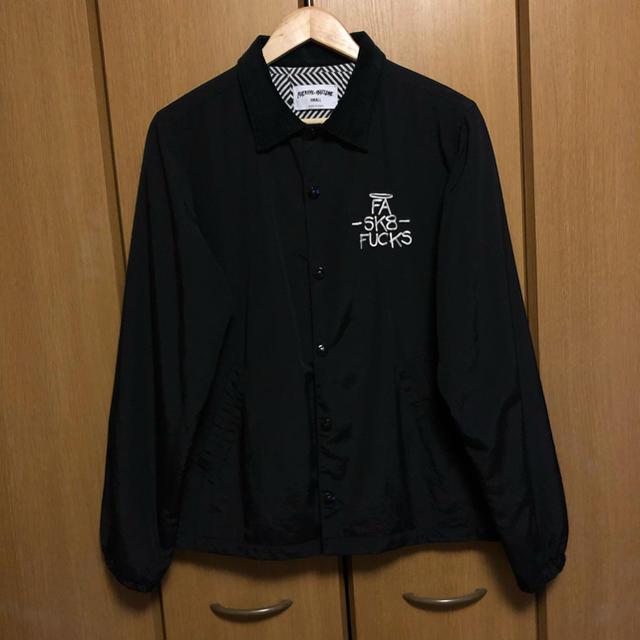 Supreme(シュプリーム)のFucking Awesome コーチジャケット メンズのジャケット/アウター(ナイロンジャケット)の商品写真