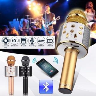 Bluetoothカラオケマイク ローズゴールド(マイク)