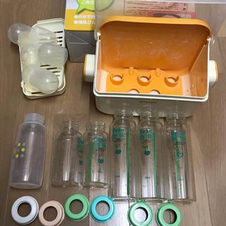 消毒じょーず 衛生ケース 哺乳びん6本 セット(哺乳ビン用消毒/衛生ケース)