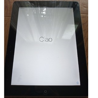 アイパッド(iPad)のiPad4 10.5inc 12GB SoftBank版(タブレット)