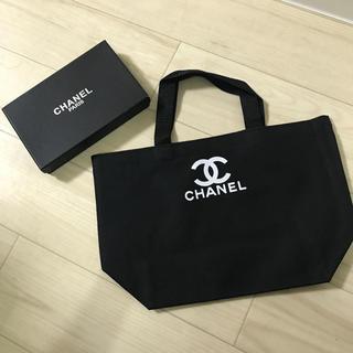 CHANEL - CHANEL ノベルティ  ハンドバッグ  黒