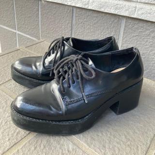 ザラ(ZARA)のZARA  ブラック シューズ クラシック(ローファー/革靴)