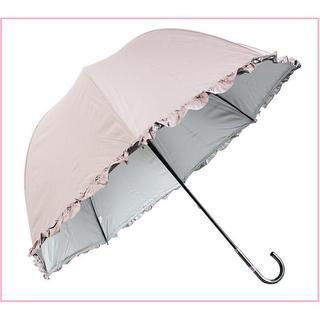 【激安◆人気】晴雨兼用 日傘 UVカット 手開き傘 (ピンク)(傘)