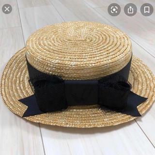 パメオポーズ(PAMEO POSE)のPAMEO カンカン帽❁⃘*.゚(麦わら帽子/ストローハット)