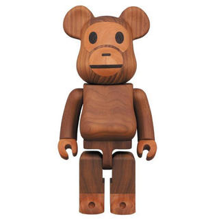 A BATHING APE - BE@RBRICK カリモク BABY MILO(R)