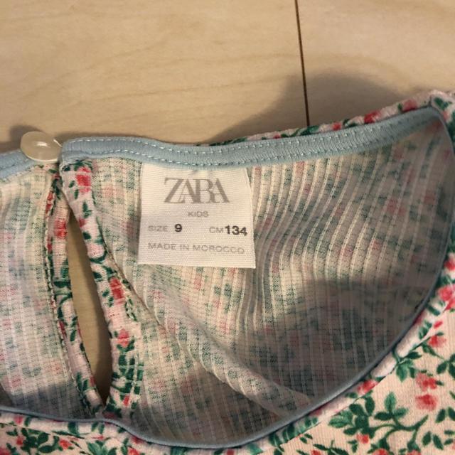 ZARA KIDS(ザラキッズ)の最終値下 ザラ ワンピース 134 キッズ/ベビー/マタニティのキッズ服女の子用(90cm~)(ワンピース)の商品写真