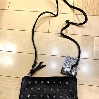 シマムラ(しまむら)のショルダーバック しまむら 新品未使用 ウォレットショルダー スタッズ(財布)