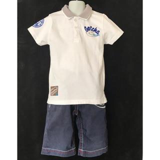 ガッチャ(GOTCHA)のGOTCHA ポロシャツ,ハーフパンツ 2セット サイズ120  ガッチャ120(パンツ/スパッツ)