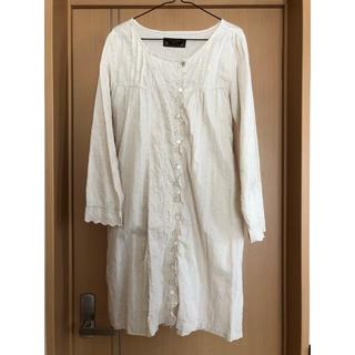 エスティークローゼット(s.t.closet)の美品 リネン ワンピース s.t.closet(ひざ丈ワンピース)